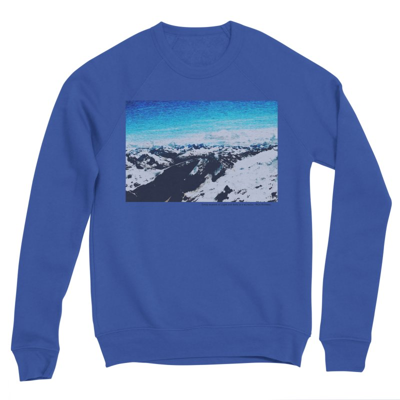 Every Moment of Light and Dark is a Miracle Men's Sponge Fleece Sweatshirt by Cory & Mike's Artist Shop