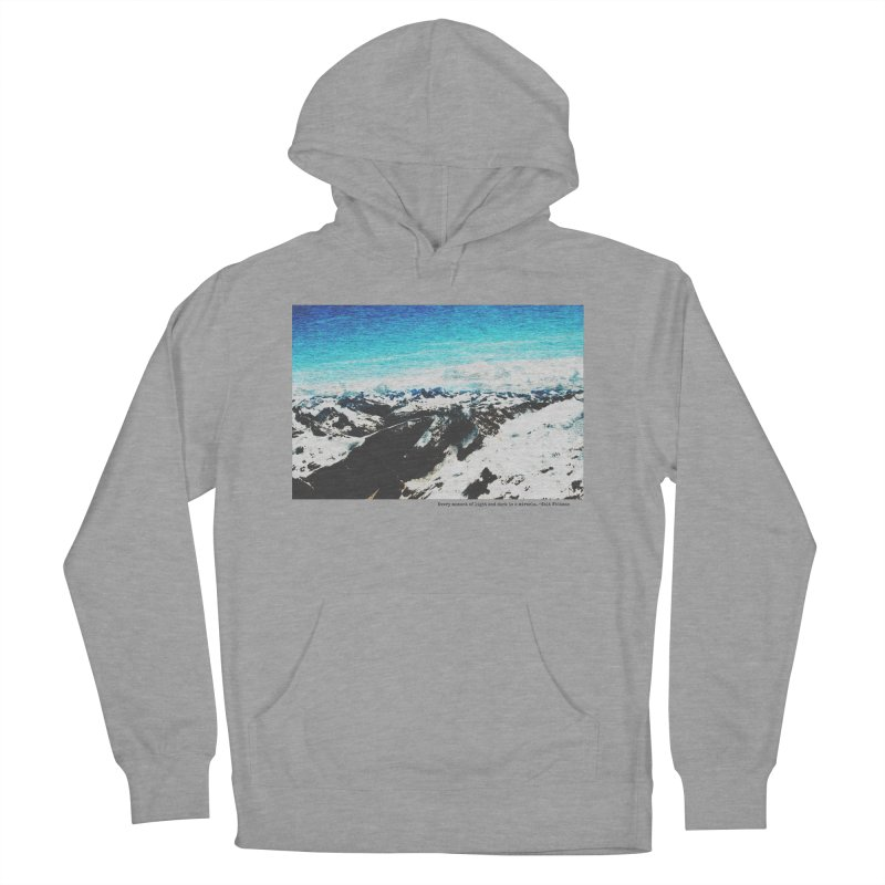 Every Moment of Light and Dark is a Miracle Women's French Terry Pullover Hoody by Cory & Mike's Artist Shop