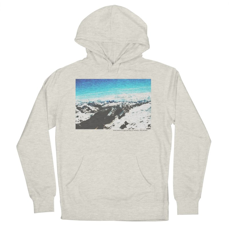 Every Moment of Light and Dark is a Miracle Men's French Terry Pullover Hoody by Cory & Mike's Artist Shop