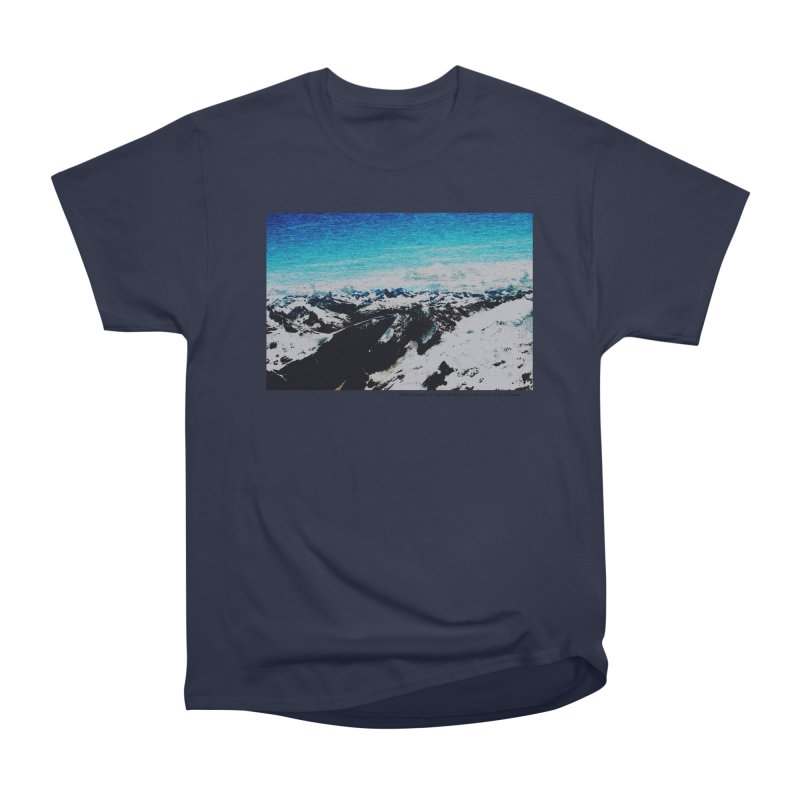 Every Moment of Light and Dark is a Miracle Women's Heavyweight Unisex T-Shirt by Cory & Mike's Artist Shop