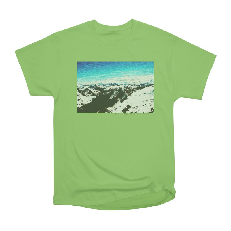 Every Moment of Light and Dark is a Miracle Men's Heavyweight T-Shirt by Cory & Mike's Artist Shop