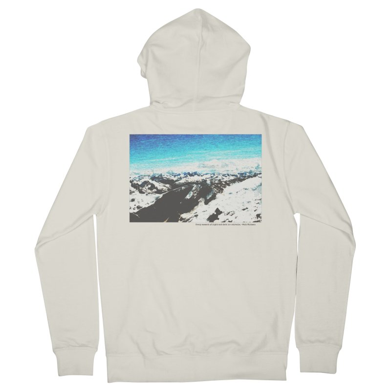 Every Moment of Light and Dark is a Miracle Men's French Terry Zip-Up Hoody by Cory & Mike's Artist Shop