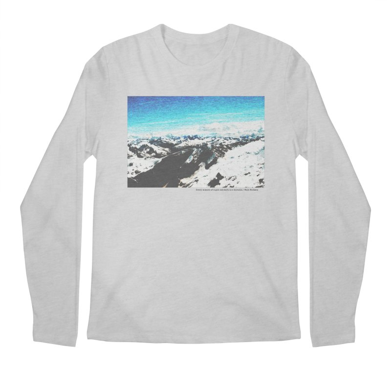 Every Moment of Light and Dark is a Miracle Men's Regular Longsleeve T-Shirt by Cory & Mike's Artist Shop