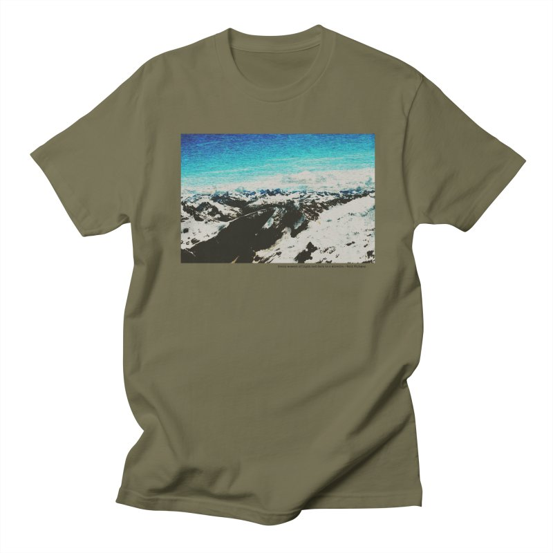 Every Moment of Light and Dark is a Miracle Women's Regular Unisex T-Shirt by Cory & Mike's Artist Shop