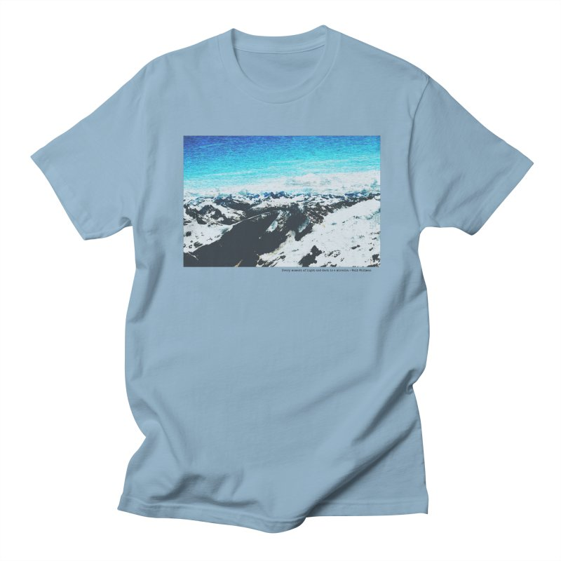 Every Moment of Light and Dark is a Miracle Men's Regular T-Shirt by Cory & Mike's Artist Shop