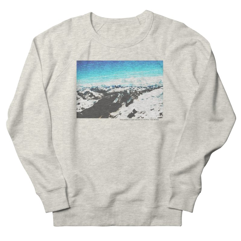 Every Moment of Light and Dark is a Miracle Women's French Terry Sweatshirt by Cory & Mike's Artist Shop