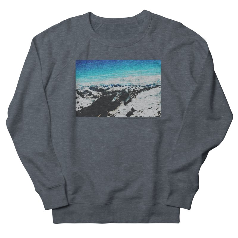 Every Moment of Light and Dark is a Miracle Men's French Terry Sweatshirt by Cory & Mike's Artist Shop