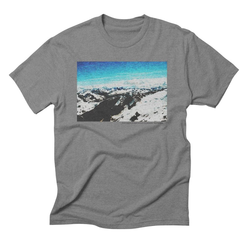 Every Moment of Light and Dark is a Miracle Men's Triblend T-Shirt by Cory & Mike's Artist Shop