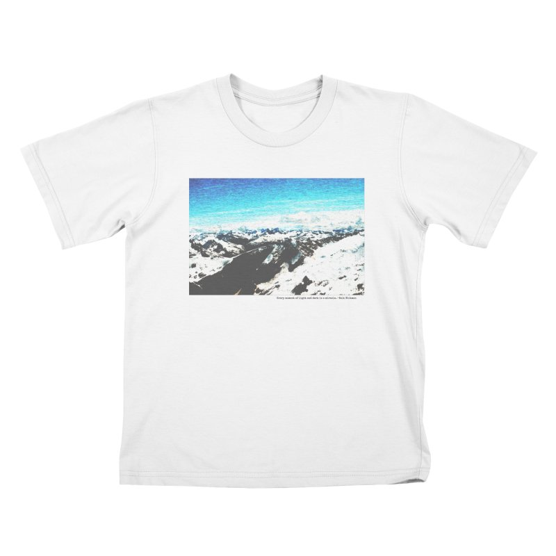 Every Moment of Light and Dark is a Miracle Kids T-Shirt by Cory & Mike's Artist Shop