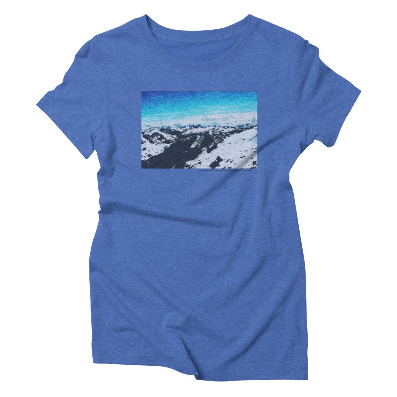Every Moment of Light and Dark is a Miracle Women's Triblend T-Shirt by Cory & Mike's Artist Shop