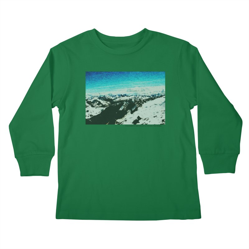 Every Moment of Light and Dark is a Miracle Kids Longsleeve T-Shirt by Cory & Mike's Artist Shop