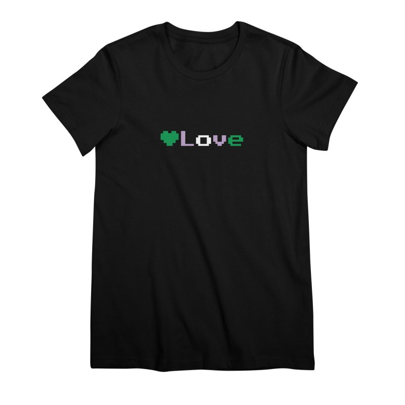 Genderqueer Love Women's Premium T-Shirt by Cory & Mike's Artist Shop