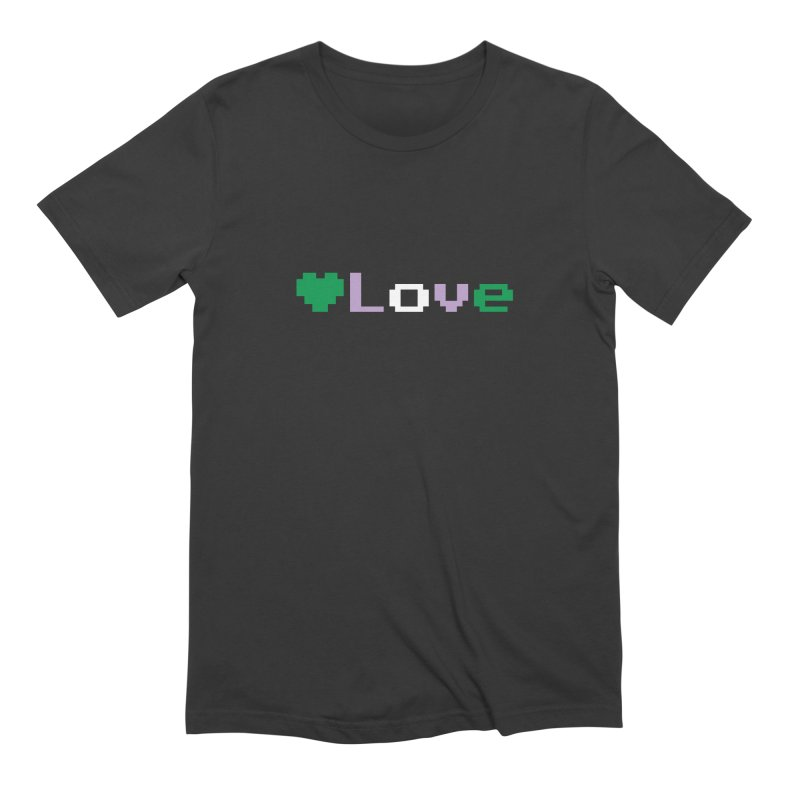 Genderqueer Love Men's Extra Soft T-Shirt by Cory & Mike's Artist Shop