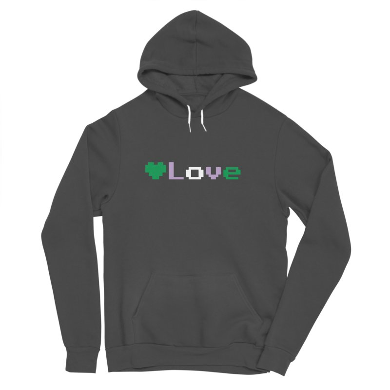 Genderqueer Love Women's Sponge Fleece Pullover Hoody by Cory & Mike's Artist Shop