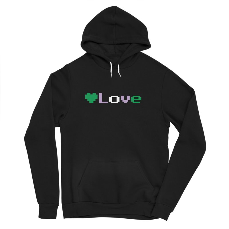 Genderqueer Love Men's Sponge Fleece Pullover Hoody by Cory & Mike's Artist Shop