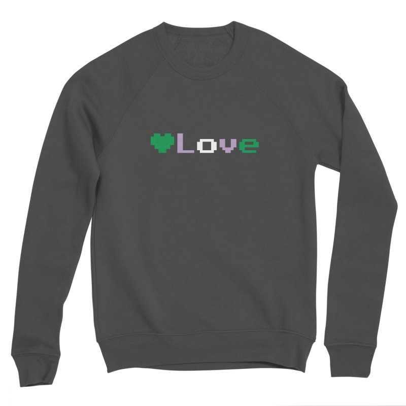 Genderqueer Love Men's Sponge Fleece Sweatshirt by Cory & Mike's Artist Shop