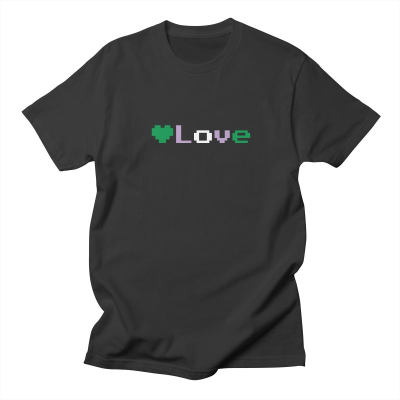 Genderqueer Love Men's T-Shirt by Cory & Mike's Artist Shop