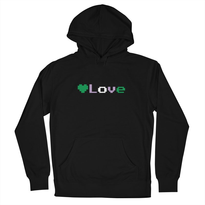 Genderqueer Love Men's French Terry Pullover Hoody by Cory & Mike's Artist Shop