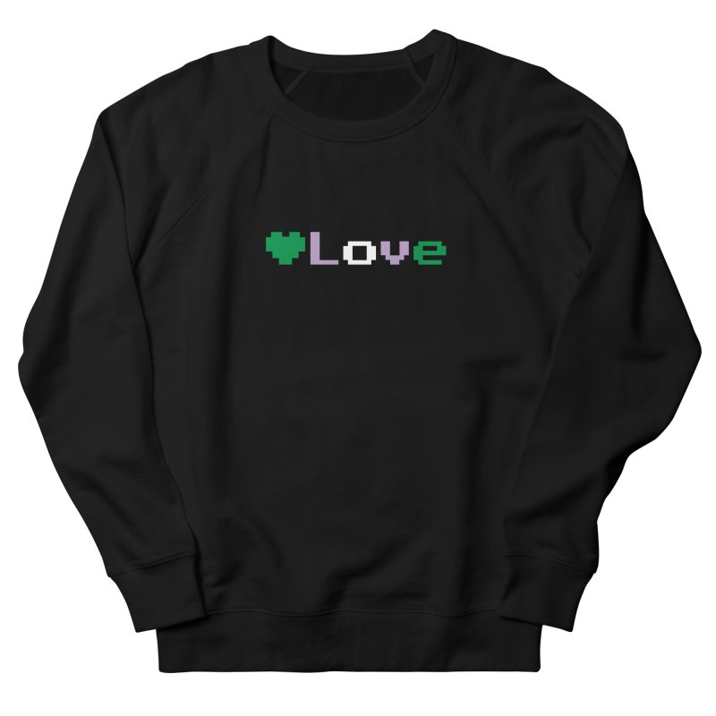 Genderqueer Love Women's French Terry Sweatshirt by Cory & Mike's Artist Shop