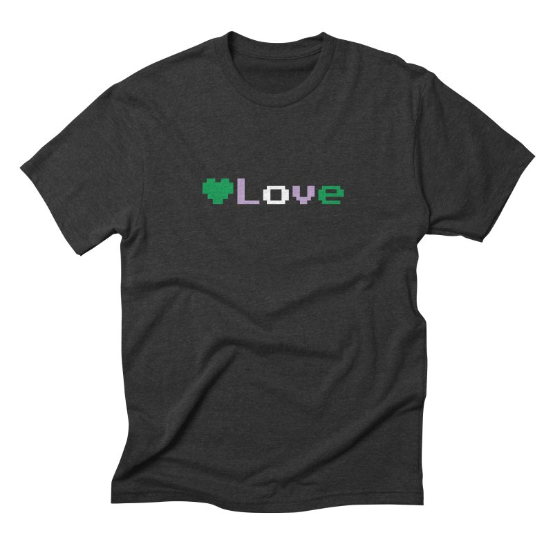 Genderqueer Love Men's Triblend T-Shirt by Cory & Mike's Artist Shop