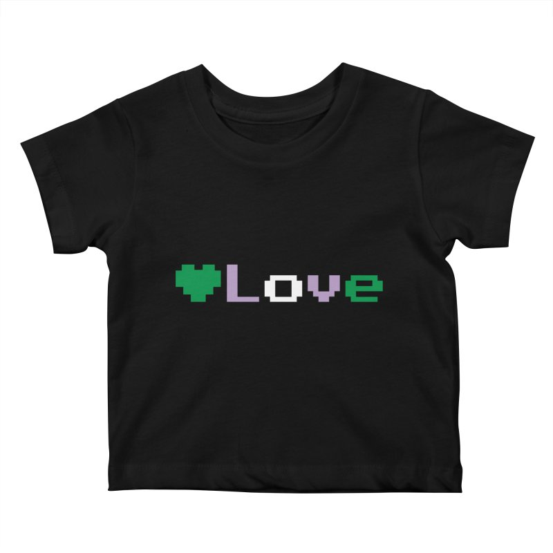 Genderqueer Love Kids Baby T-Shirt by Cory & Mike's Artist Shop