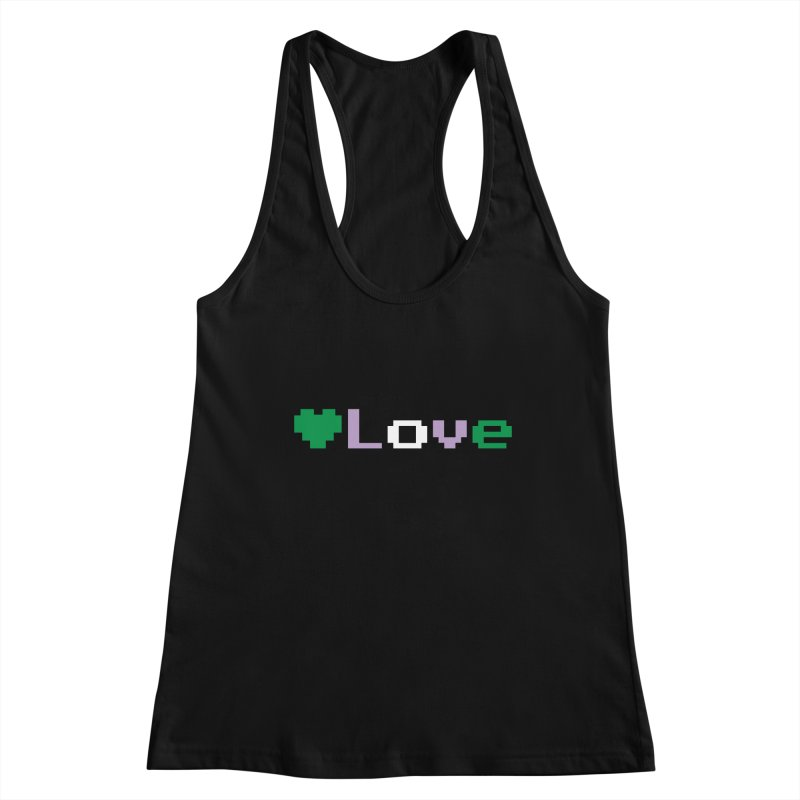 Genderqueer Love Women's Tank by Cory & Mike's Artist Shop