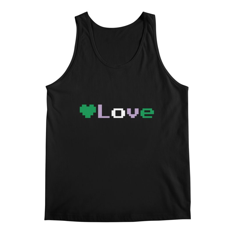 Genderqueer Love Men's Tank by Cory & Mike's Artist Shop
