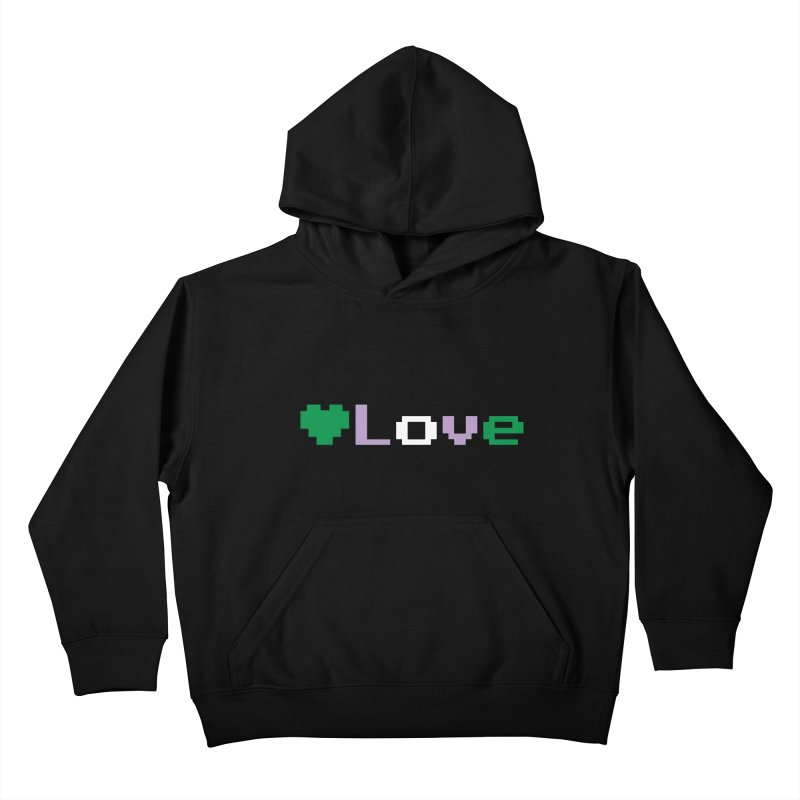 Genderqueer Love Kids Pullover Hoody by Cory & Mike's Artist Shop