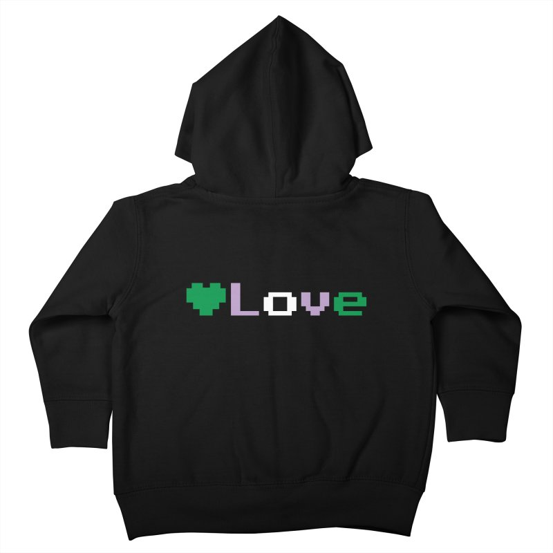 Genderqueer Love Kids Toddler Zip-Up Hoody by Cory & Mike's Artist Shop