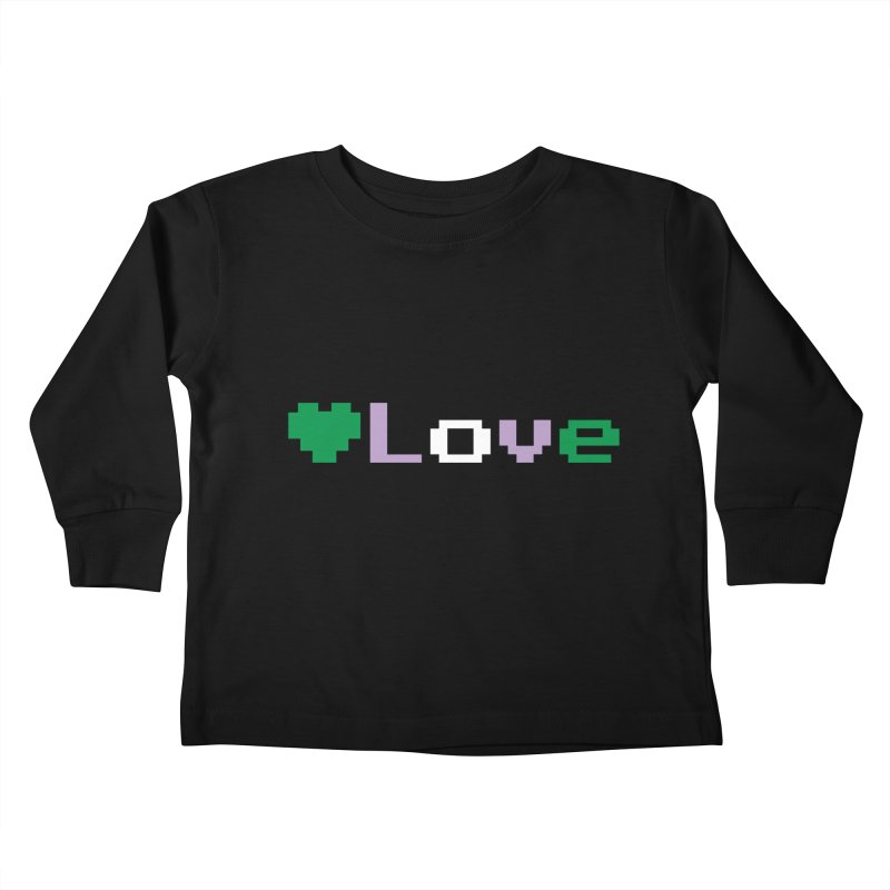 Genderqueer Love Kids Toddler Longsleeve T-Shirt by Cory & Mike's Artist Shop
