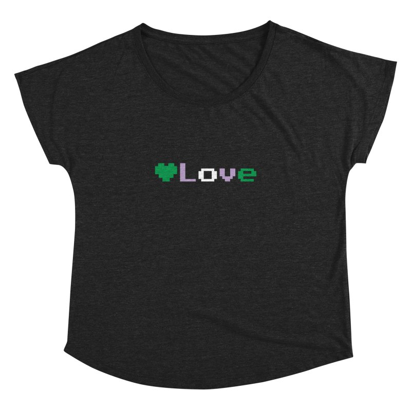 Genderqueer Love Women's Dolman Scoop Neck by Cory & Mike's Artist Shop