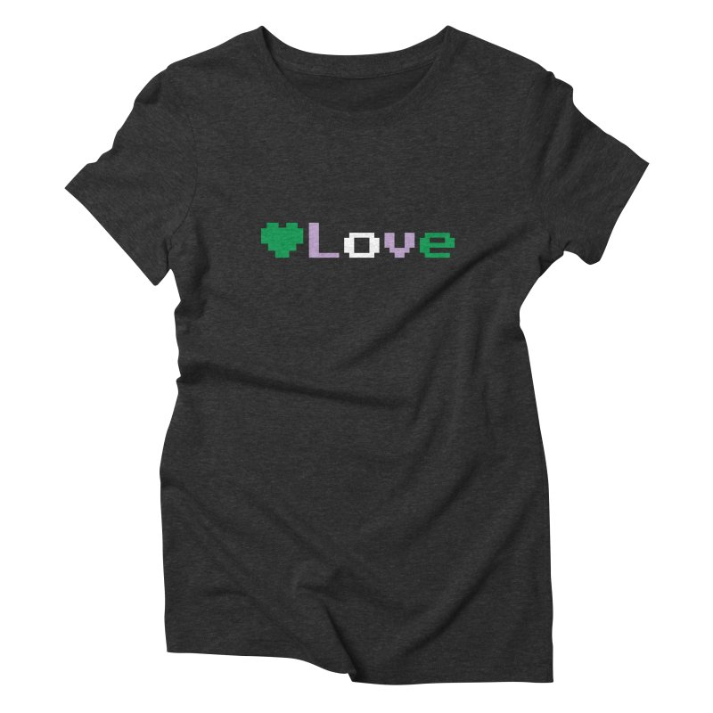 Genderqueer Love Women's Triblend T-Shirt by Cory & Mike's Artist Shop