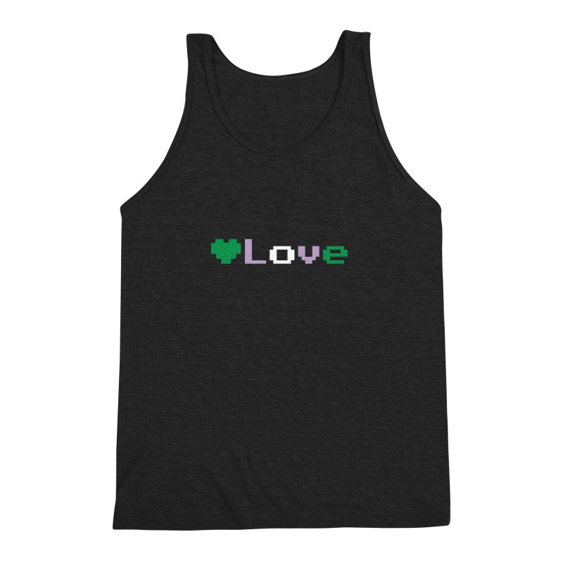Genderqueer Love Men's Triblend Tank by Cory & Mike's Artist Shop