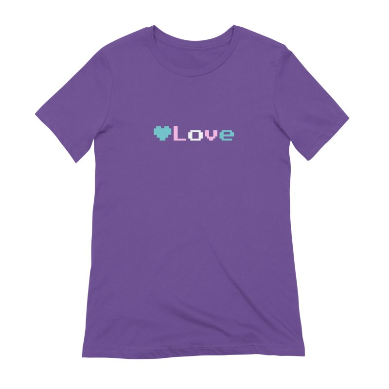 Trans Love Women's Extra Soft T-Shirt by Cory & Mike's Artist Shop