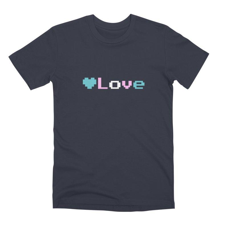 Trans Love Men's Premium T-Shirt by Cory & Mike's Artist Shop