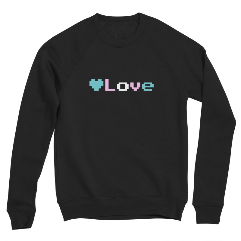 Trans Love Men's Sponge Fleece Sweatshirt by Cory & Mike's Artist Shop