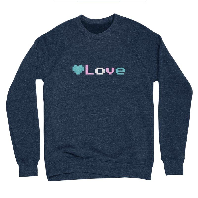 Trans Love Men's Sponge Fleece Sweatshirt by Cory & Mike's Artist Shop