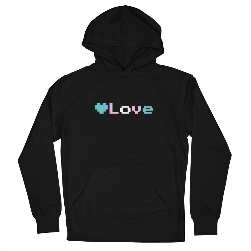 Trans Love Women's French Terry Pullover Hoody by Cory & Mike's Artist Shop