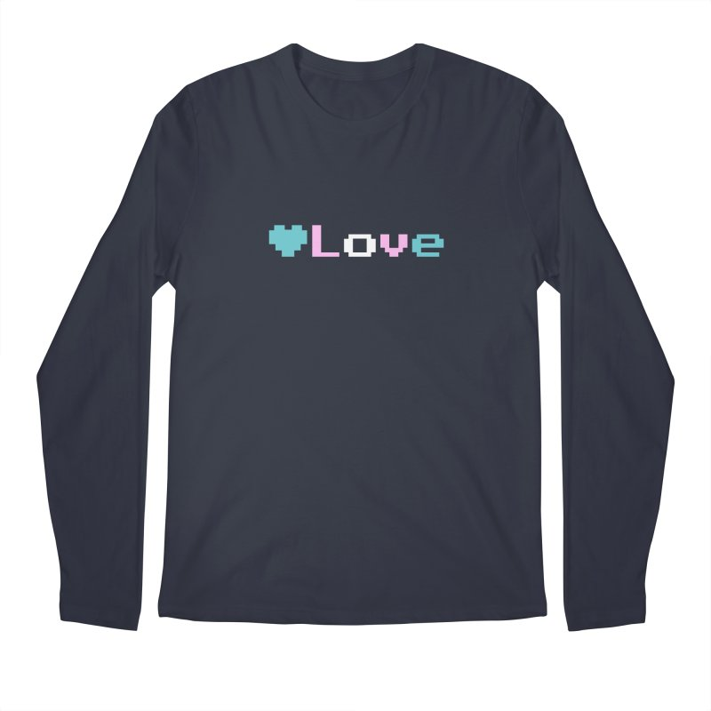 Trans Love Men's Regular Longsleeve T-Shirt by Cory & Mike's Artist Shop
