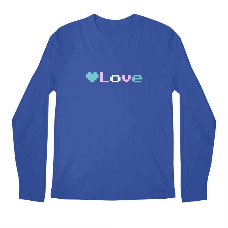 Trans Love Men's Regular Longsleeve T-Shirt by Cory & Mike's Artist Shop