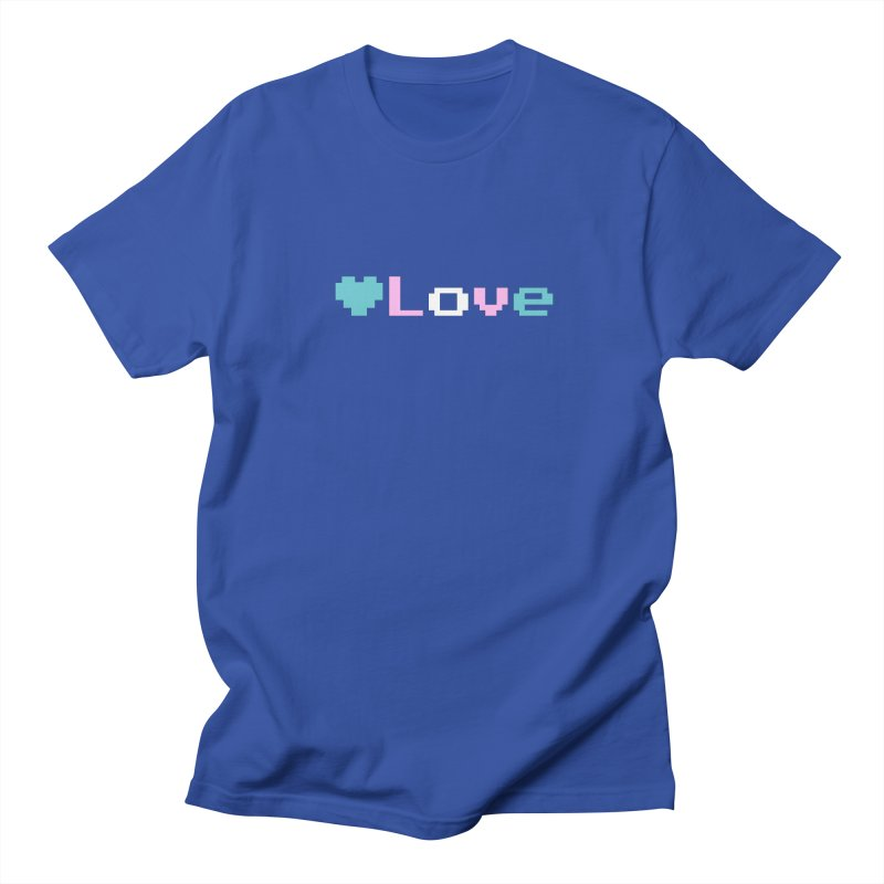 Trans Love Women's Regular Unisex T-Shirt by Cory & Mike's Artist Shop