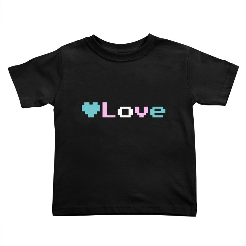 Trans Love Kids Toddler T-Shirt by Cory & Mike's Artist Shop