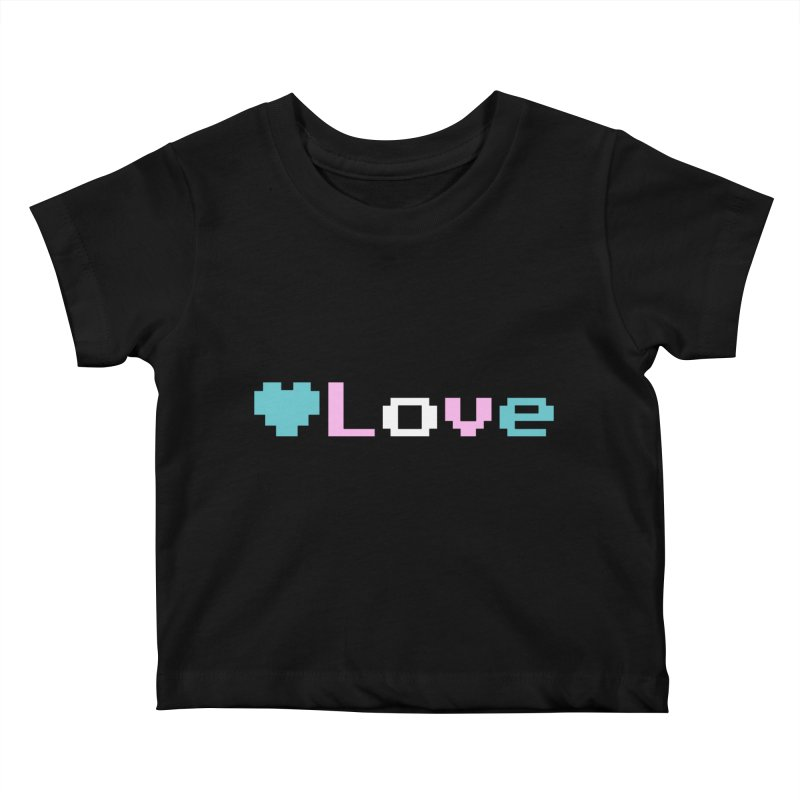 Trans Love Kids Baby T-Shirt by Cory & Mike's Artist Shop
