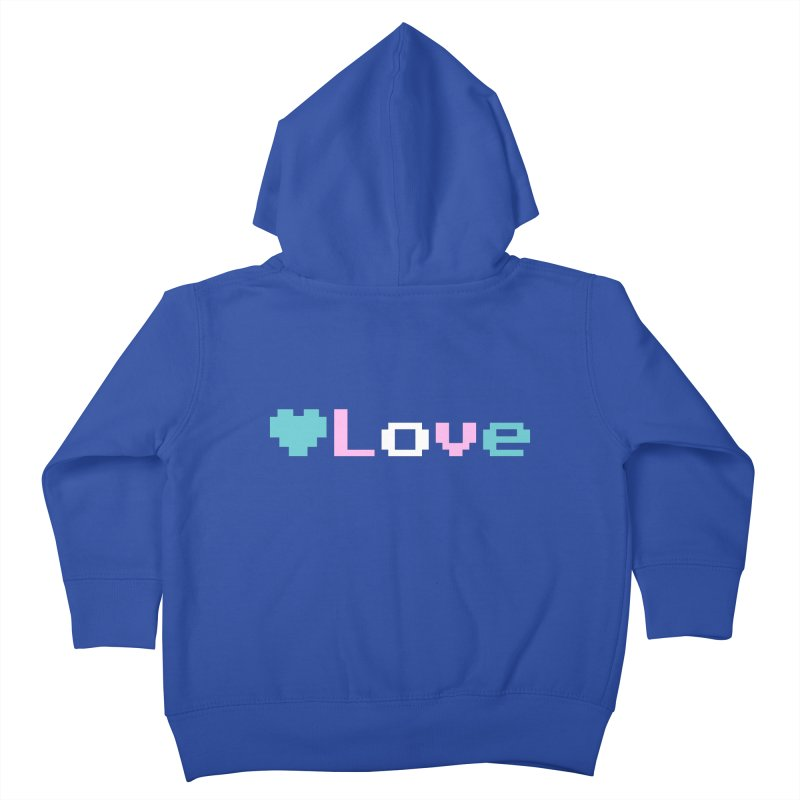 Trans Love Kids Toddler Zip-Up Hoody by Cory & Mike's Artist Shop