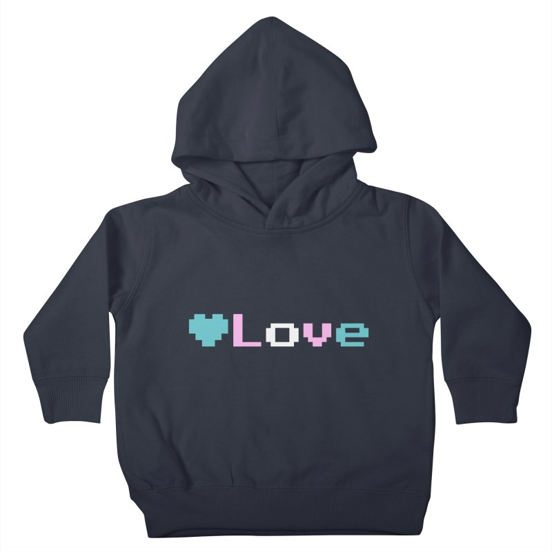 Trans Love Kids Toddler Pullover Hoody by Cory & Mike's Artist Shop