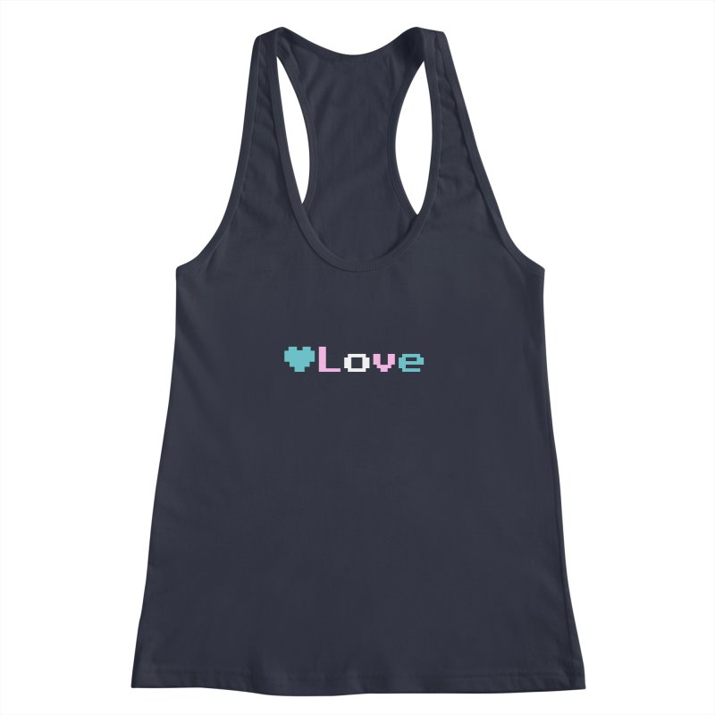 Trans Love Women's Racerback Tank by Cory & Mike's Artist Shop