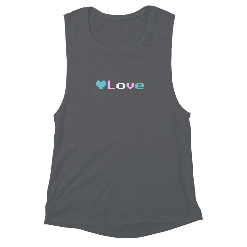 Trans Love Women's Muscle Tank by Cory & Mike's Artist Shop