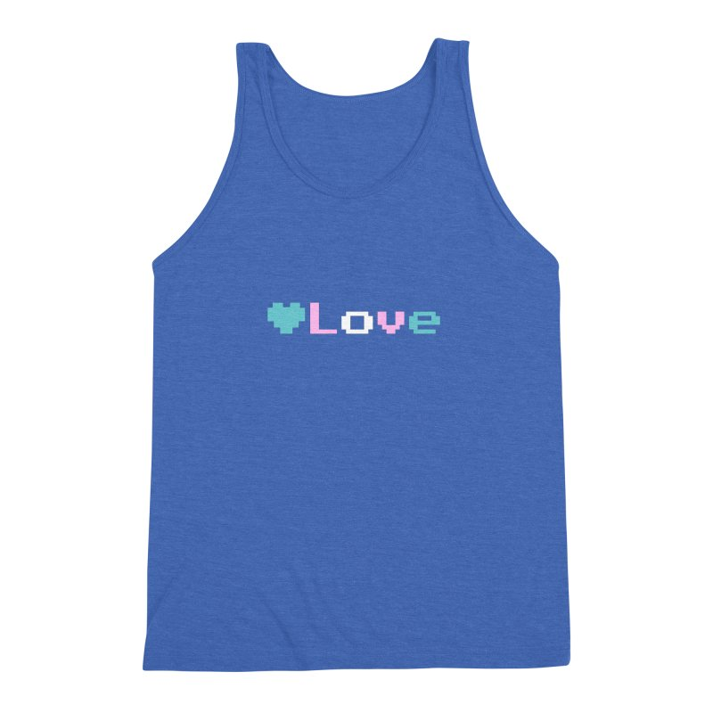 Trans Love Men's Triblend Tank by Cory & Mike's Artist Shop