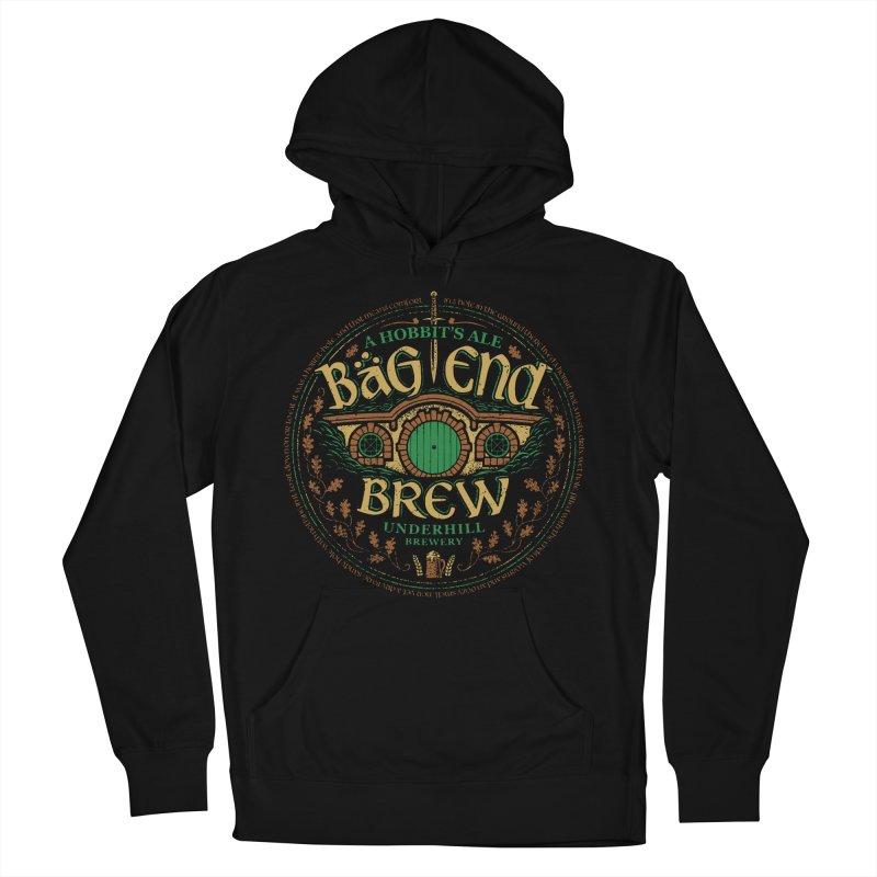 Bag End Brew Men's Pullover Hoody by CoryFreemanDesign