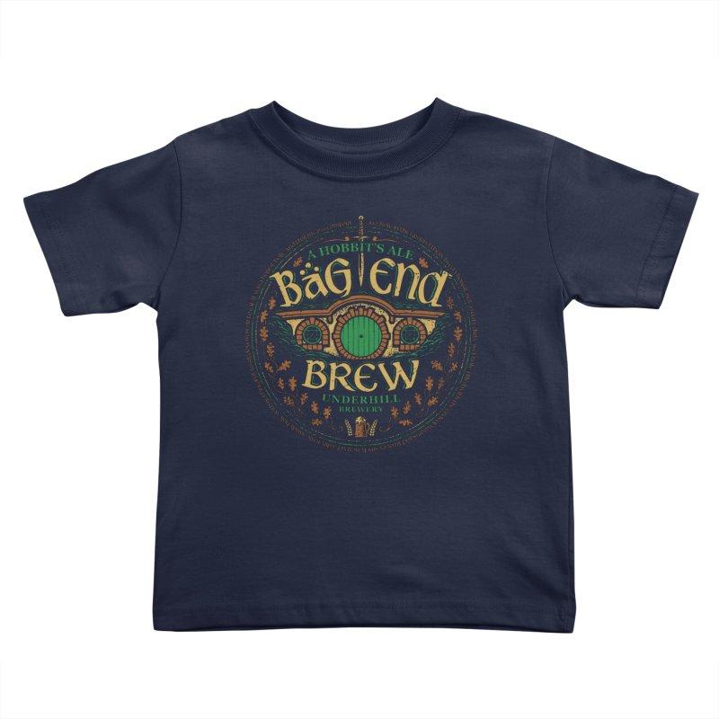 Bag End Brew Kids Toddler T-Shirt by CoryFreemanDesign